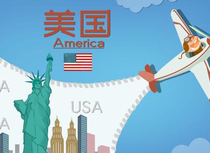 美国签证办理,险受阻