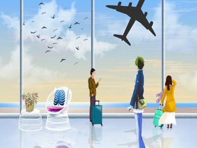 美国航班延误,100多名乘客延误起飞